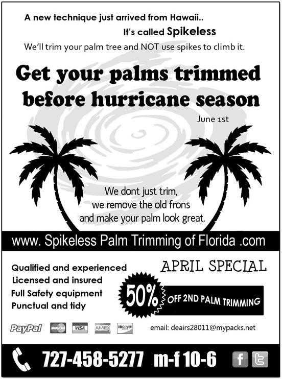 Our April flyer